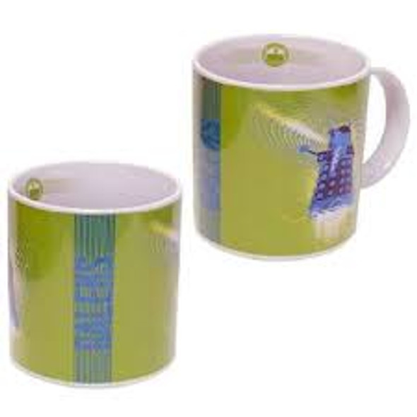 Dr Who Green Dalek Mug
