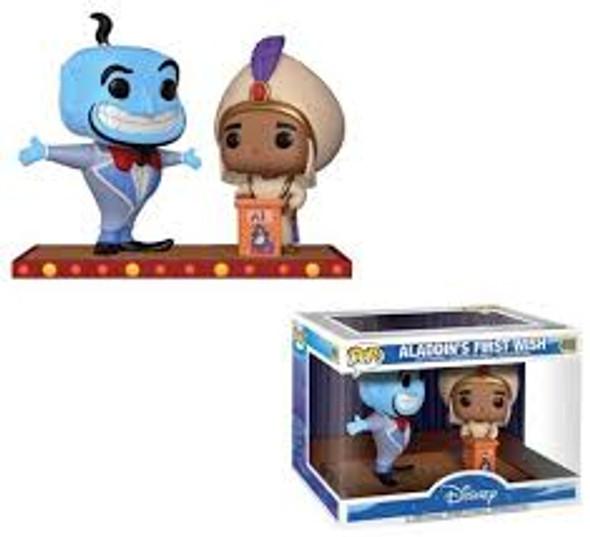 Disney Movie Moments Aladdin Genie Wish
