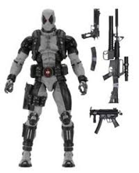 Marvel Deadpool X-Force Version 1/4 Scale NECA