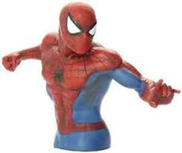 Spider-Man Bust Bank