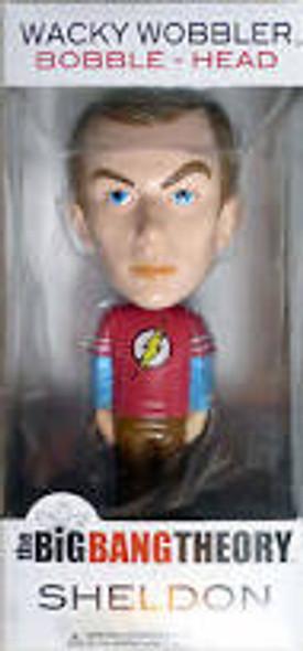 Funko Wacky Wobbler Big Bang Theory Sheldon Flash Shirt