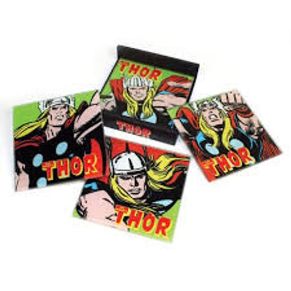 Thor Glass Coaster set of 4