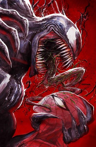 Venom 18 exclusive Tyler Kirkham cover B