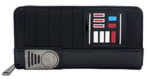 Loungefly Darth Vader Zip Around Wallet