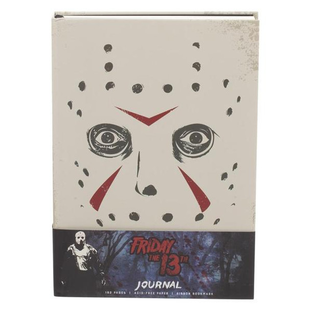 Friday The 13th Hardcover Journal Book