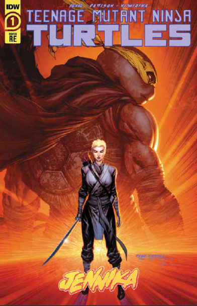TMNT Jennika #1 Comic Spot Exclusive Tyler Kirkham Cover A Variant