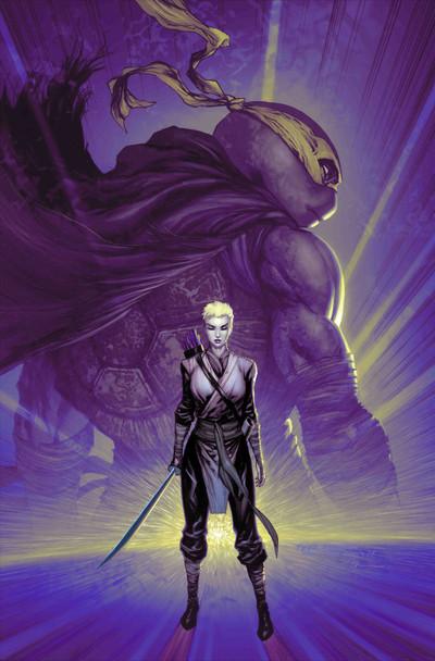 TMNT Jennika #1 Comic Spot Exclusive Tyler Kirkham Cover B Variant