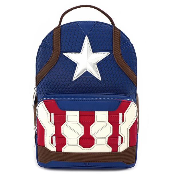 Loungefly Captain America Endgame Hero Mini Backpack