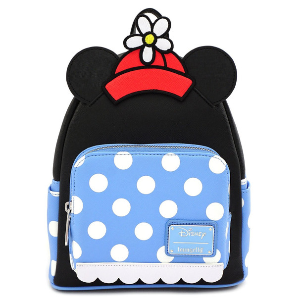 Loungefly Positively Minnie Mouse Polka Dot Mini Backpack