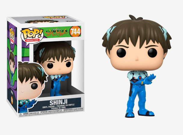 Funko Pop Animation: Evangelion - Shinji