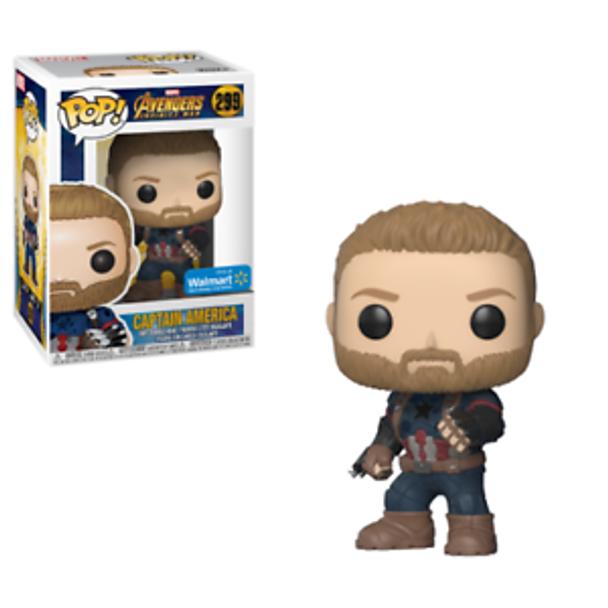 Pop Funko Marvel: Avengers Infinity War - Captain America Walmart