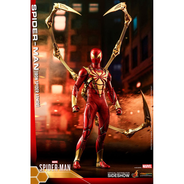 Hot Toys Spiderman Iron Spider Armor