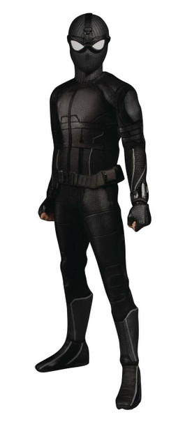 Mezco Spider-Man: Far from Home Stealth Suit One:12 Action Figure