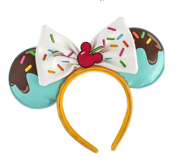 Real Life picture of headband. Mini Backpack is included in this combo listing.