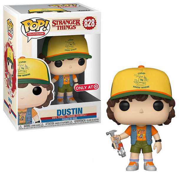 Pop! Television: Stranger Things Dustin (with Roast Beef Shirt) Exclusive #828