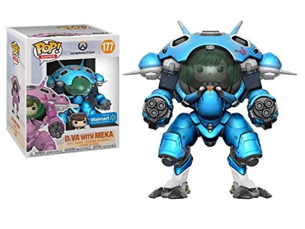Pop Games: Overwatch D.Va with Meka (Blueberry) Walmart Exclusive