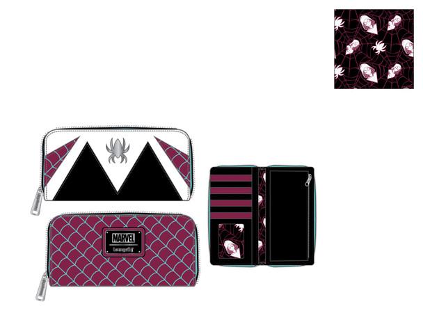 Loungefly Marvel Spider Gwen Cosplay Ziparound Wallet