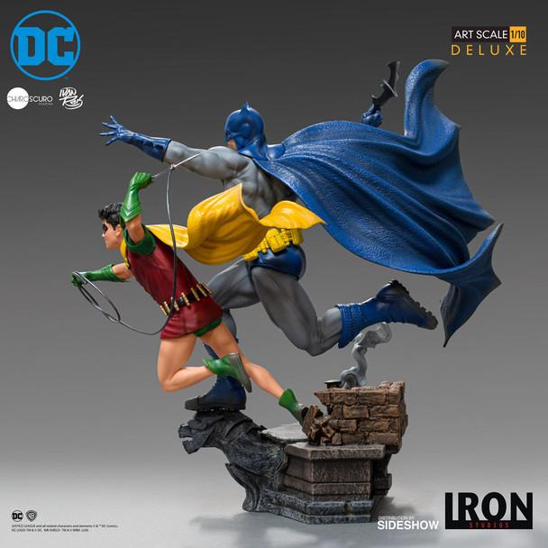Iron Studios Batman And Robin Statue