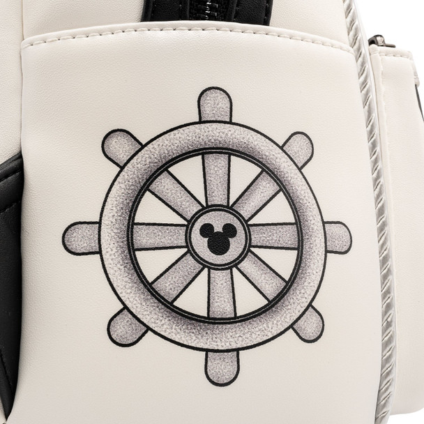 Loungefly Disney Steamboat Willie Music Cruise Mini