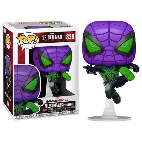 Pop! Games: Marvel's Spider-Man: Miles Morales - Miles Purple Rain Suit