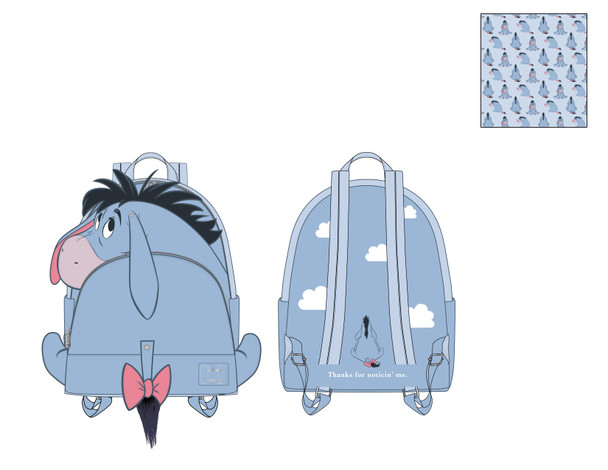 Loungefly Disney Eeyore Cosplay Mini