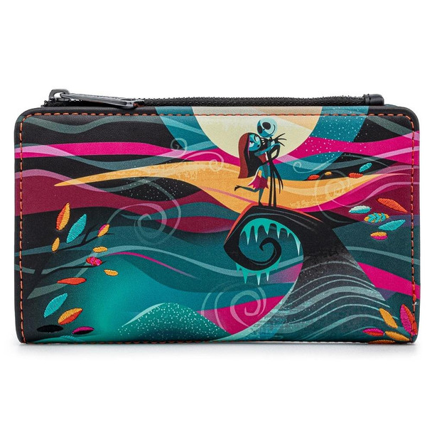 Loungefly Disney Nbc Simply Meant To Be Flap Wallet