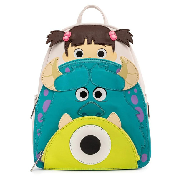 Loungefly Pixar Monsters Inc Boo Mike Sully Cosplay Mini
