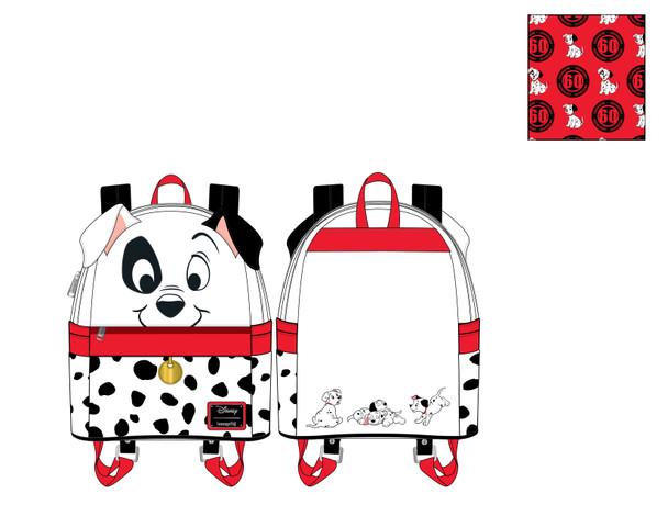 Loungefly Disney 101 Dalmations Cosplay Mini