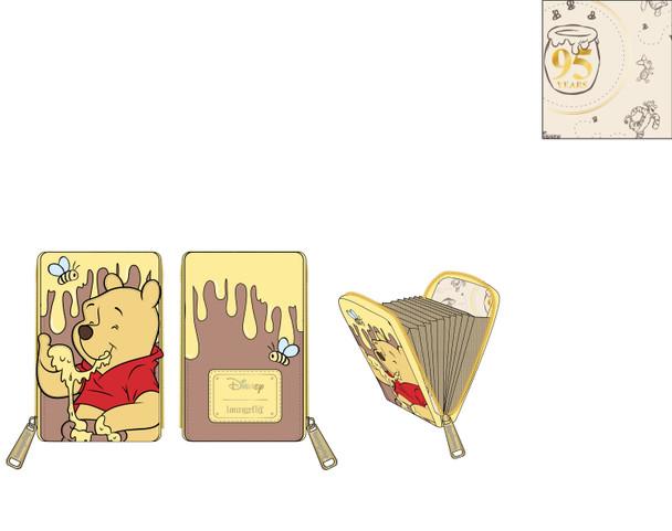 Loungefly Disney Winnie The Pooh Accordion Wallet