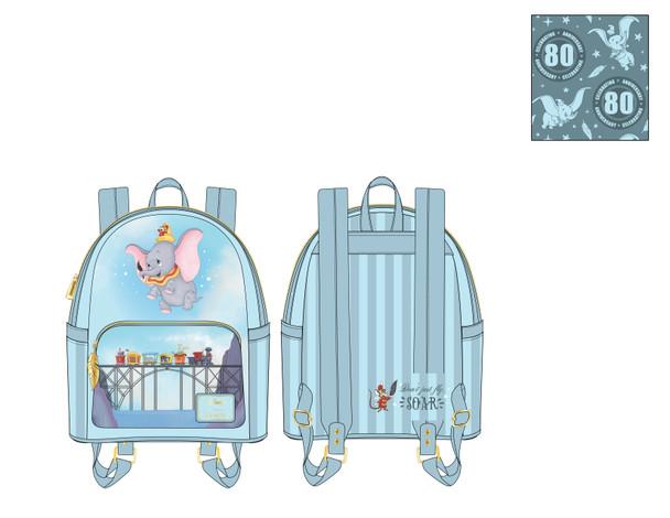 Loungefly Disney Dumbo Don't Just Fly Mini