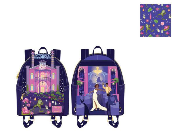 Loungefly Disney Princess And The Frog Tiana's Palace Mini