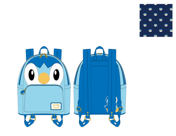 Loungefly Pokemon Piplup Cosplay Mini