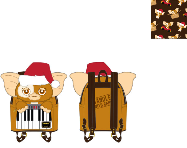Loungefly Gremlins Gizmo Holiday Cosplay W Removable Hat Mini