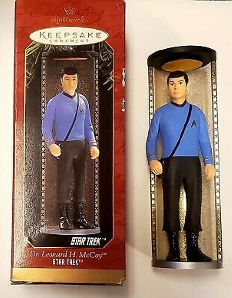 Hallmark Star Trek Dr Leonard H Mccoy Ornament