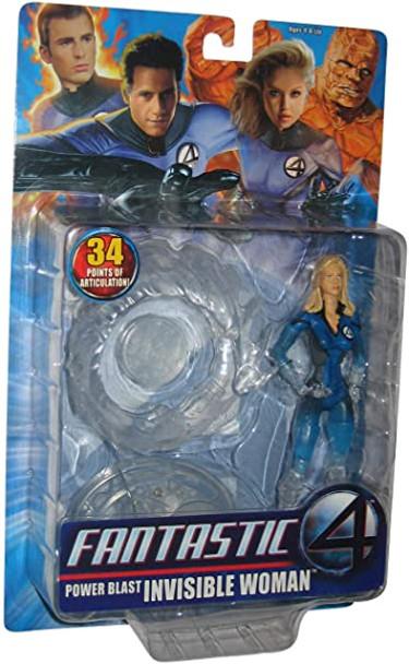 Fantastic 4 Power Blast Invisible Woman Action Figure