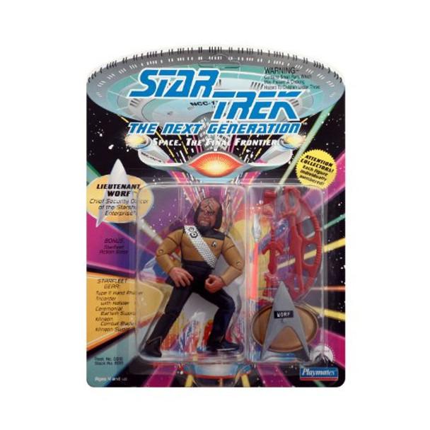 PlayMates Star Trek Next Generation Lieutenant Worf
