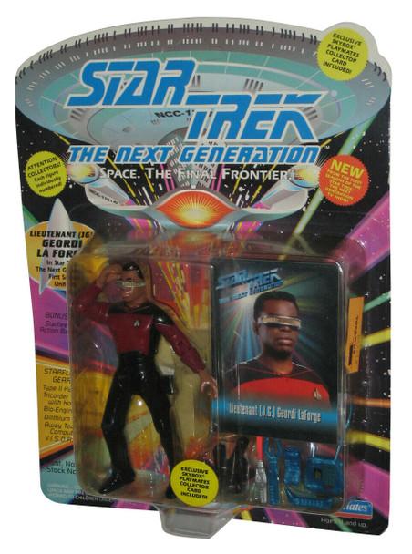 PlayMates Star Trek Next Generation Lieutenant Commander Geordi La Forge