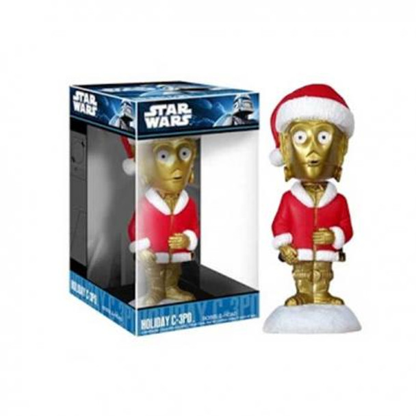 Star Wars Holiday C-3PO Bobble