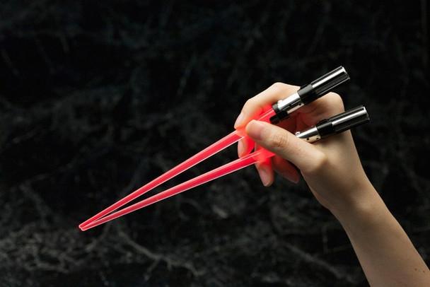 Star Wars Darth Vader Light Up Lightsaber Chopsticks