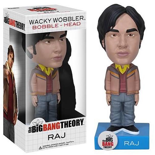 Big Bang Theory Raj Bobble