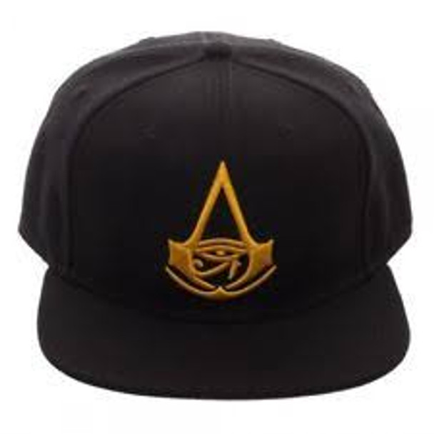 assassins creed black snapback hat