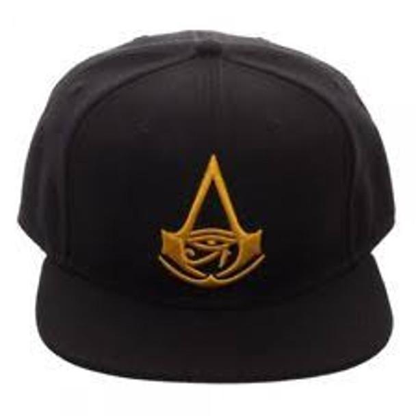 assassins creed black snapback hat