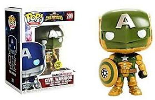 Marvel Pop Civil Warrior Hot Topic