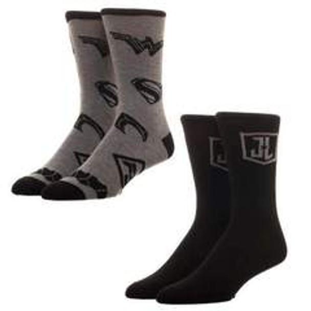 2pk Justice League Crew Sock