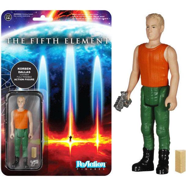Reaction Korben Dallas Figure