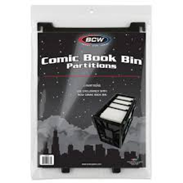 BCW Partitions for Short Comic Bin