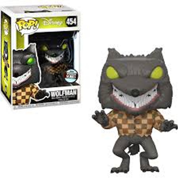 Disney Nightmare Before Christmas Wolfman #454