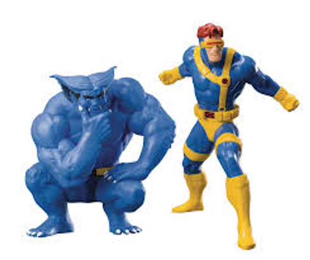 ArtFX+ 92' X-men Beast & Cyclops 2pk