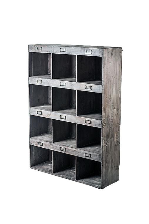 X-Large Rustic Recyced Pine Display Shelf