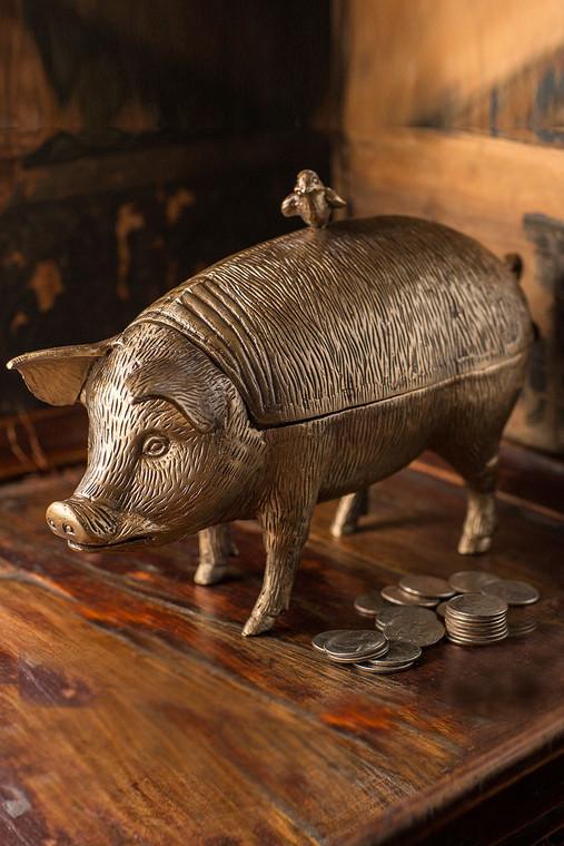 Pig with Bird Storage Box